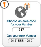 choose a phone number - local or toll free